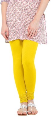 NEW TRENDS Women's Yellow Leggings