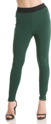 Kazo Women's Green Jeggings
