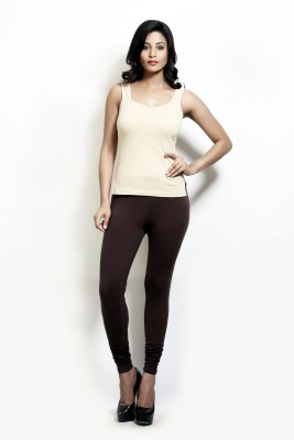 Design Classics Women's Brown Leggings