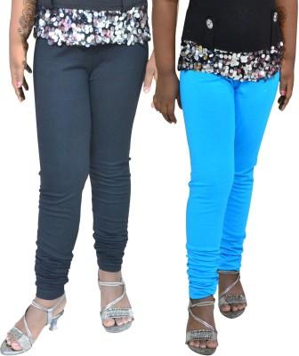 1 For Me Girl,s Black, Light Blue Leggings