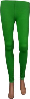 Stylefunia Women's Green Leggings