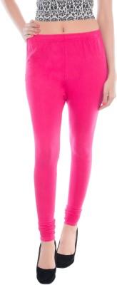 Shri Sai Creation Women's Pink Leggings