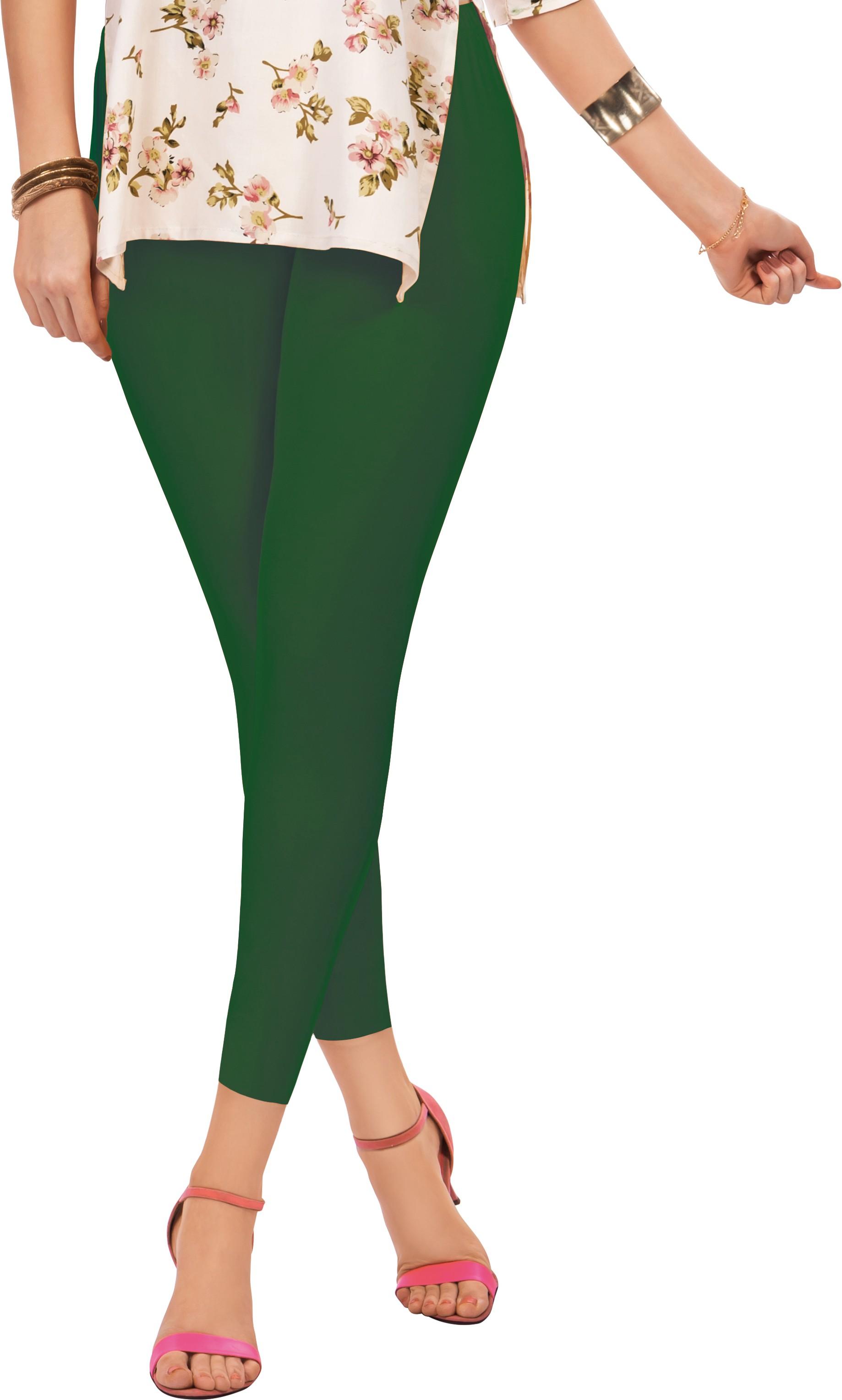 Sonari Womens Green Leggings