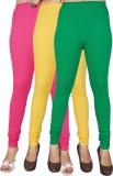 Jazzup Women's Multicolor Leggings (Pack...
