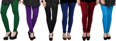Elevate Women Women's Green, Purple, Black, Blue, Maroon, Light Blue Leggings