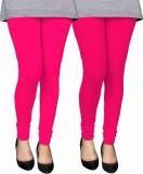PAMO Women's Pink, Pink Leggings (Pack o...