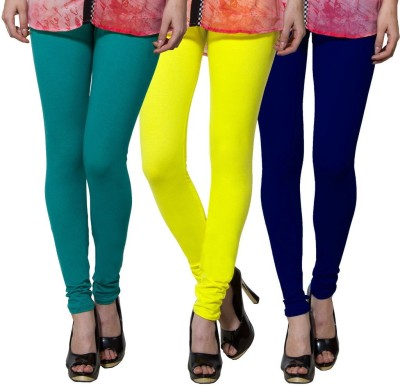 Both11 Women's Green, Yellow, Blue Leggings