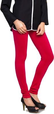 Bulbul Women's Red Leggings