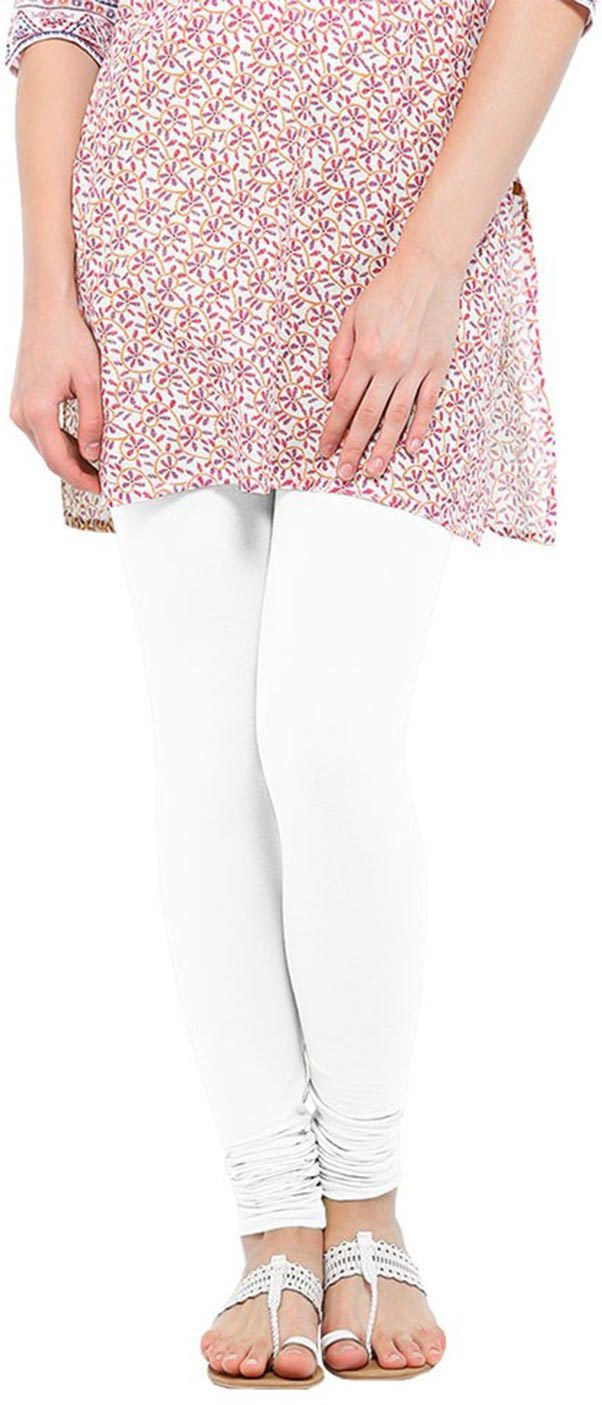 Linking Threads Womens White Leggings