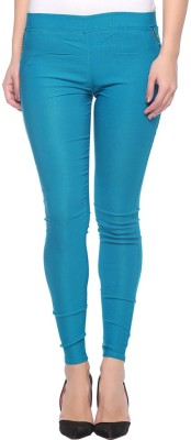 Jack Royal Women's Green Jeggings