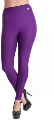 Scorpio Fashions Women's Purple Leggings
