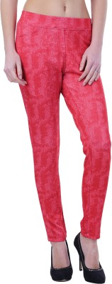 Merch21 Women's Red Jeggings