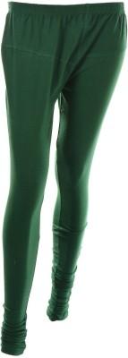 Ycee Women's Green Leggings