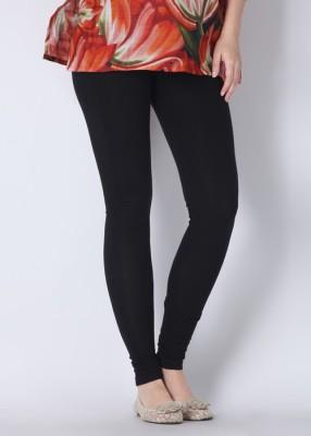 Sudharaj Women's Black Leggings