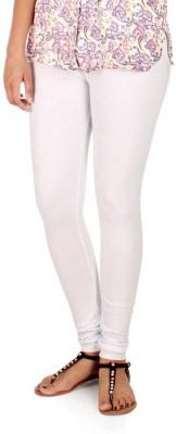 WellFitLook Women's White Leggings