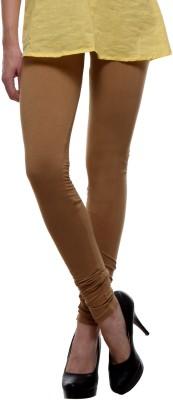 Urban Diseno Women's Beige Leggings