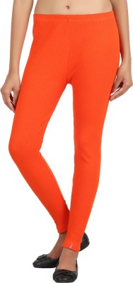 Notyetbyus Women's Orange Leggings