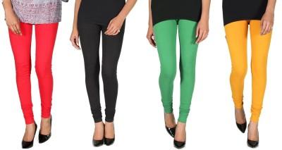 Ally Of Focker Women's Red, Black, Green, Yellow Leggings
