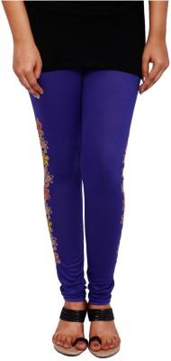 Fine Colors Women's Blue Leggings