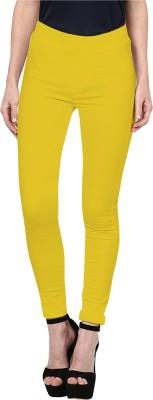 Triveni Women's Yellow Leggings