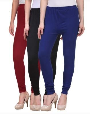 Desi Duos Women's Black, Blue, Maroon Leggings