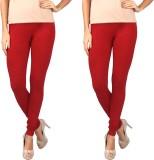 Rounak Creations Women's Red Leggings (P...