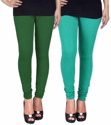 Ayesha Fashion Women's Green Leggings