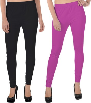 X-Cross Women's Black, Pink Leggings