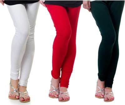 Archway Women's White, Red, Green Leggings