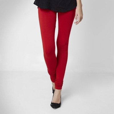 Super Stretch Women's Red Leggings
