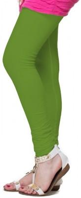 OrganicO Women's Light Green Leggings