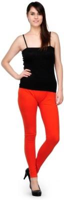 Oleva Women,s Orange Leggings