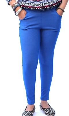Vita Elegante Women's Blue Jeggings