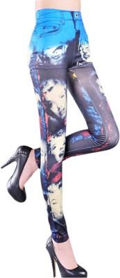 Jaune Women's Multicolor Leggings