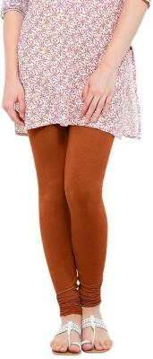 WellFitLook Women's Brown Leggings at flipkart