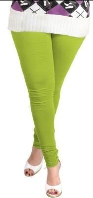 Idesign Women's Light Green Leggings