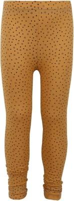 Jazzup Girl's Yellow Leggings