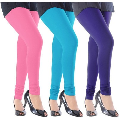 Angel Soft Women,s Pink, Light Blue, Blue Leggings