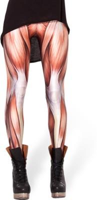 Glam Quotient Women's Orange Leggings