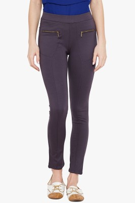 Ozel Studio Women's Grey Jeggings