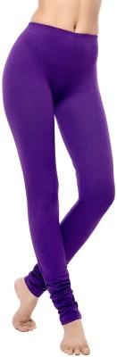Coucou by Zivame Women's Purple Leggings