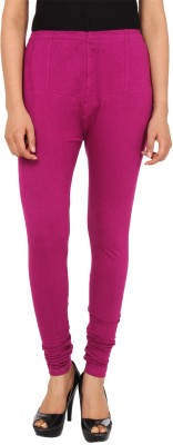 GudLuk Women's Purple Leggings