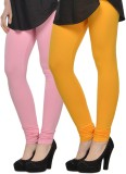Kjaggs Women's Pink, Yellow Leggings (Pa...