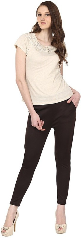 Skyline Trading Women's Brown Treggings