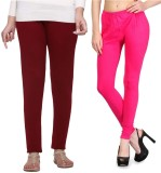 Shiva Collections Women's Maroon Legging...