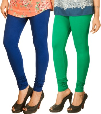 Berries Women's Dark Blue, Green Leggings