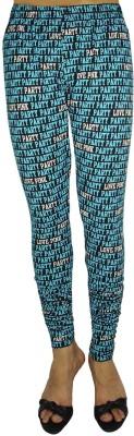 Bluedge Women's Black, Blue Leggings