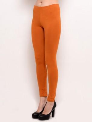 Desi Fusion Women's Orange Leggings