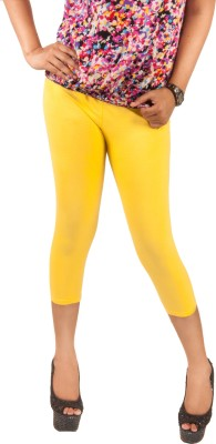 Berries Women's Yellow Leggings