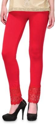 MDS Jeans Women's Red Leggings